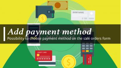 Add payment method Odoo 10