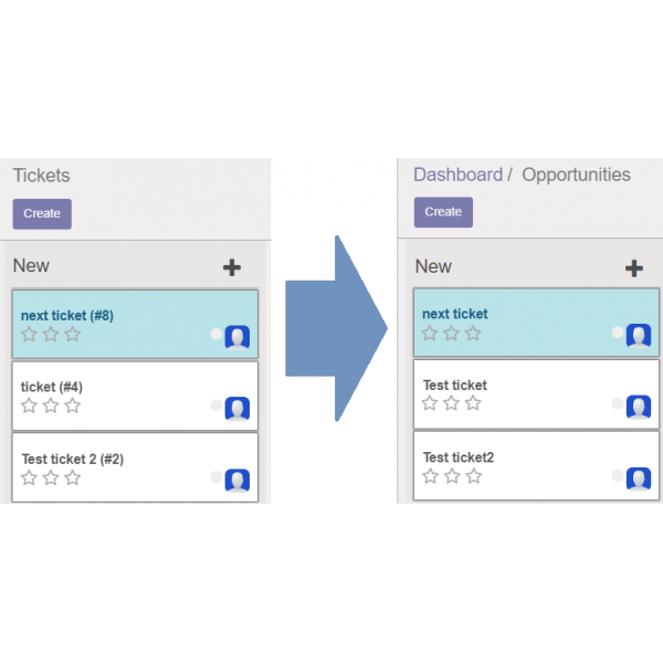 Convert helpdesk tickets to opportunities Odoo 10