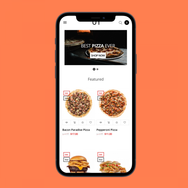 Food Opencart theme
